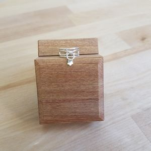 Adjustable Sterling Ring
